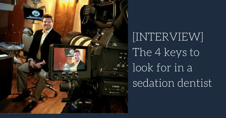 Interviewing Dr. Kenneth Eye II, sedation dentist Harrisonburg Virginia